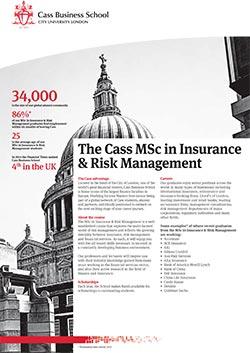 Insurance and Risk Management factsheet