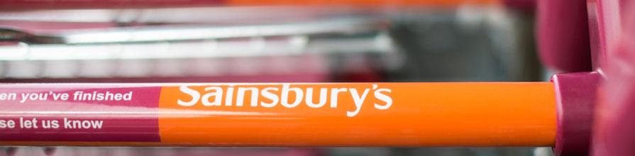 Sainsbury's shopping trolley