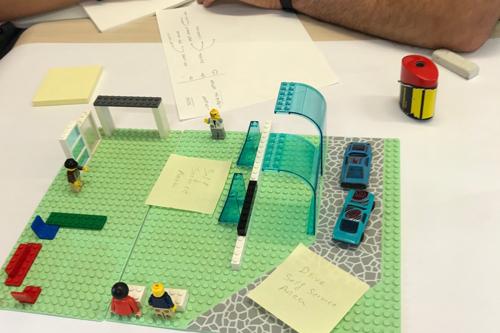 A Lego desktop walkthrough developed in the Digital Creativity Summer School