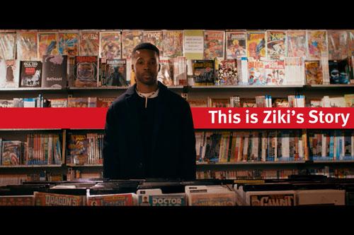 Ziki Nelson, (MA Creative Writing, 2015) and Co-Founder-of-Kugali
