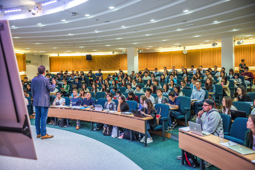 Teaching at a business school