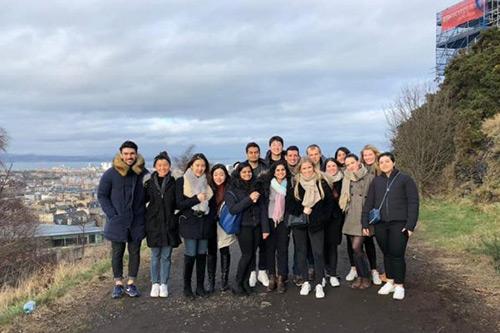 MSc entrepreneurship Self organised class trip to Edinburgh, Scotland (February 2018)