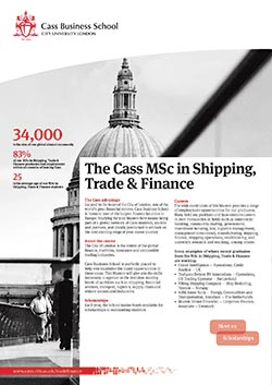 Shipping Trade and Finance factsheet