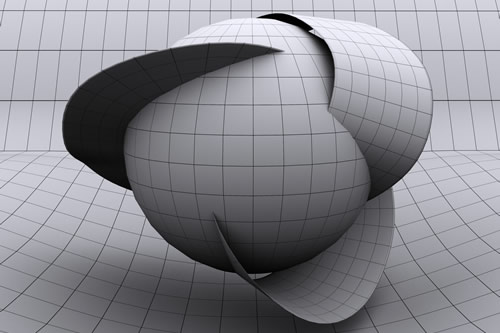 Model of extra dimensions
