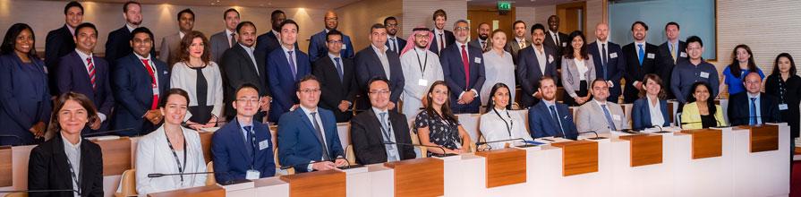 Image of 2017 Cass Dubai EMBA cohort