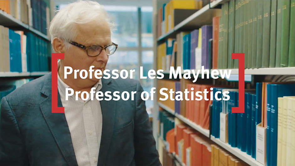 Les Mayhew is Professor of Statistics at Cass Business School