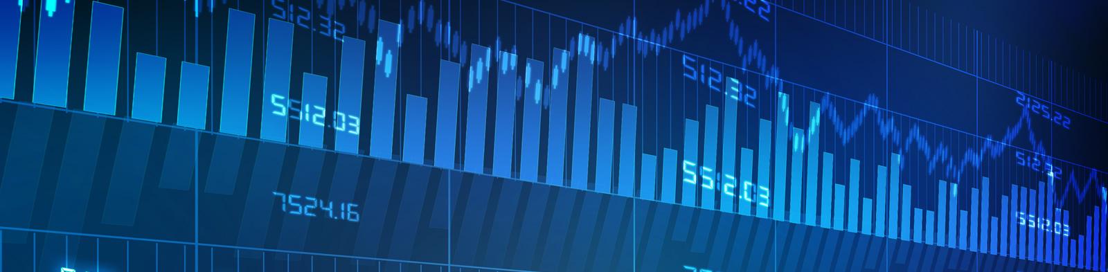 Luminous graphic of investment graphs