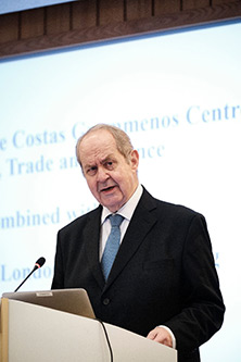 Gostas Grammenos at the 35th Anniversary of the Costas Grammenos Centre for Shipping, Trade and Finance combined with the 9th City of London Biennial Meeting