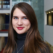 BSc Finance student Karolina Golunska