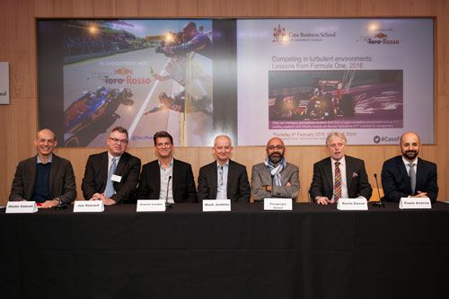Panel at Competing in turbulent environments: Lessons from Formula One 2016