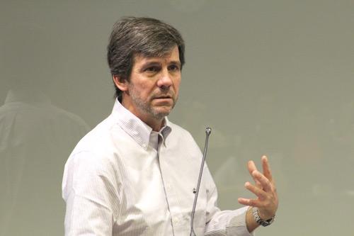 Chilean mountaineer Dr Rodrigo Jordán gives Cass MBA masterclass