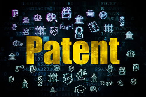 """Graphic of the word """"Patent"""""""