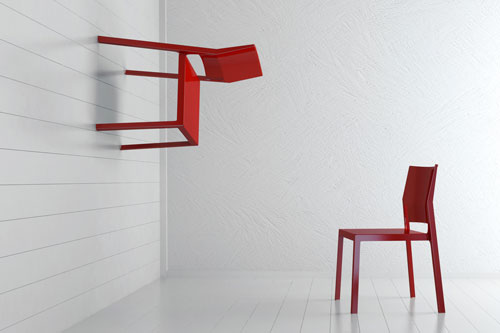 Concept picture of two chairs