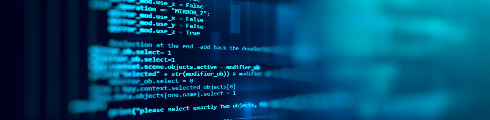 Software code illuminated