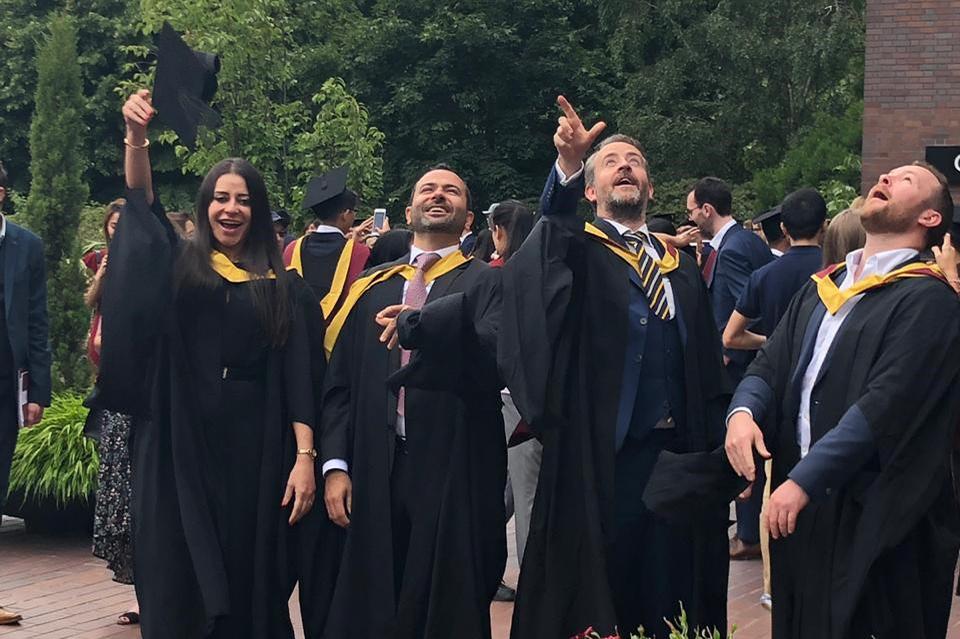 Cass DEMBA graduates in London