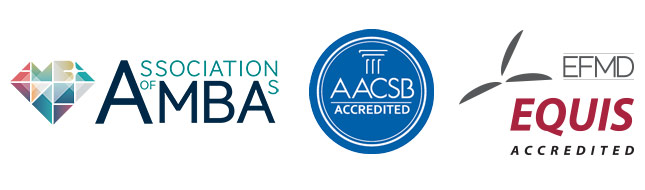 AMBA AACSB EQUIS logos