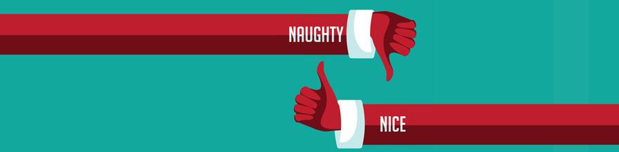 Naughty or Nice. John Lewis Christmas Advert