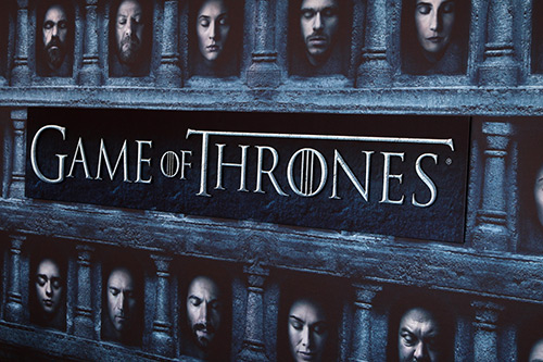 Game of Thrones title screen