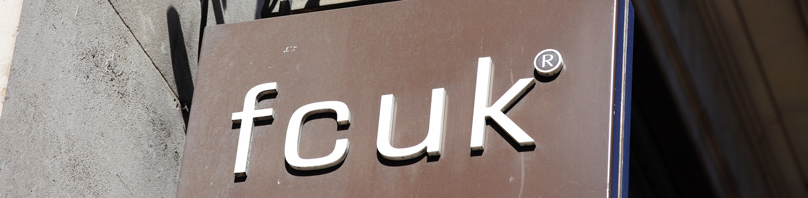 French Connection logo on shop sign