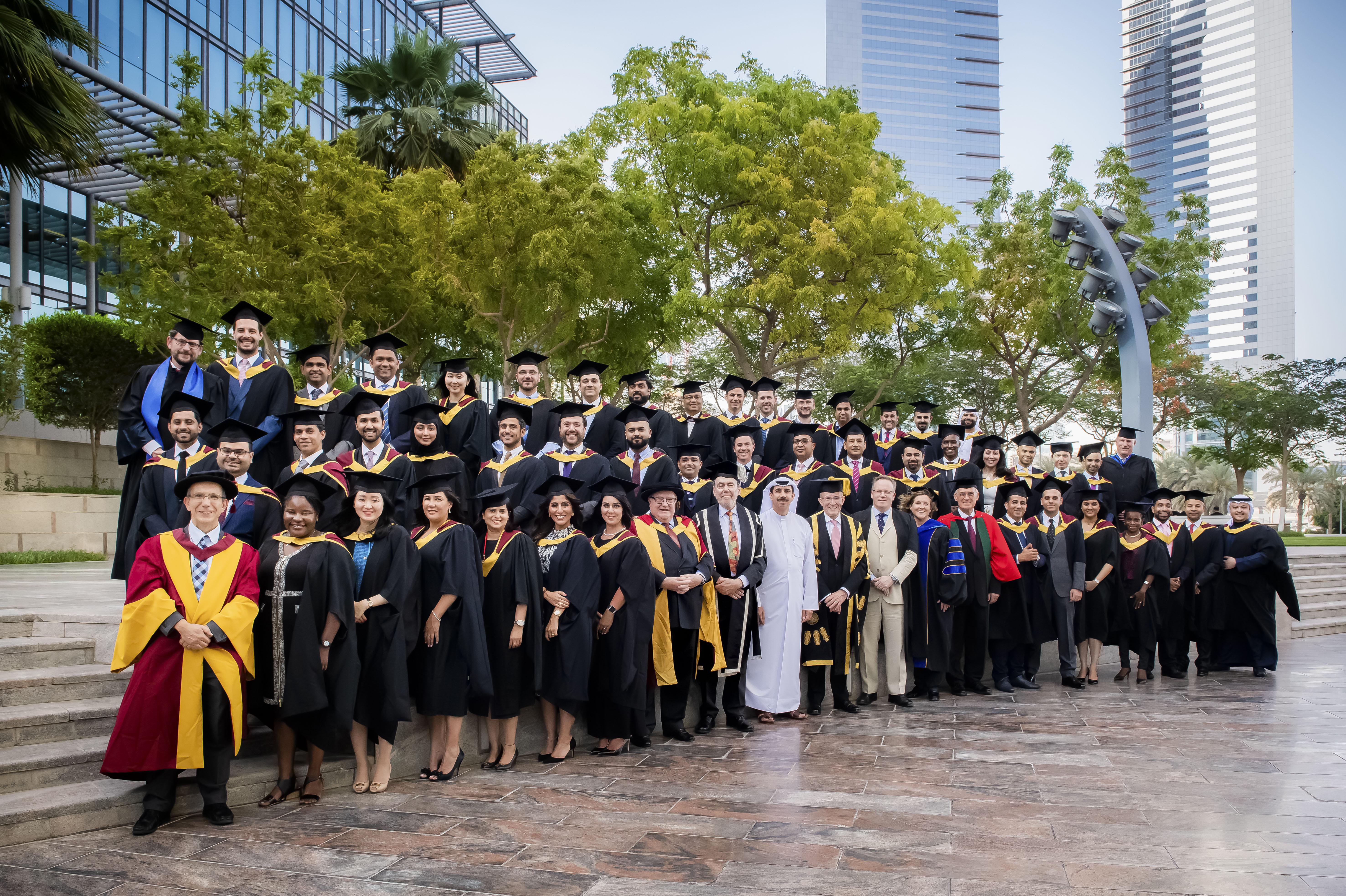 City University of London Dubai Graduation May 2018