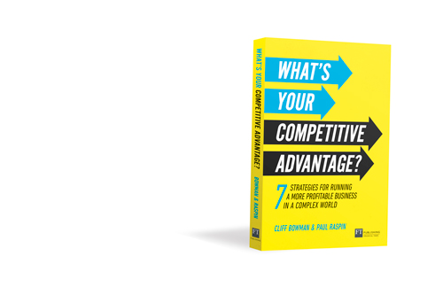 "Graphic of book ""What's your competitive advantage"""