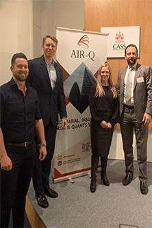 The Cass AIR-Q Trading Forum panel