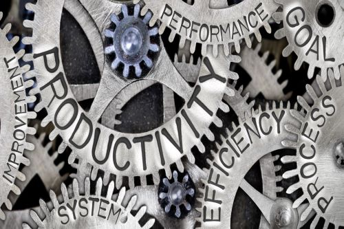 Cogs of productivity turn