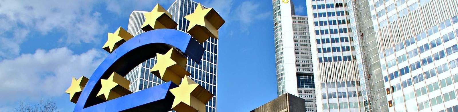 Euro sign at ECB