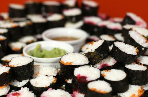 Sushi from International City Week