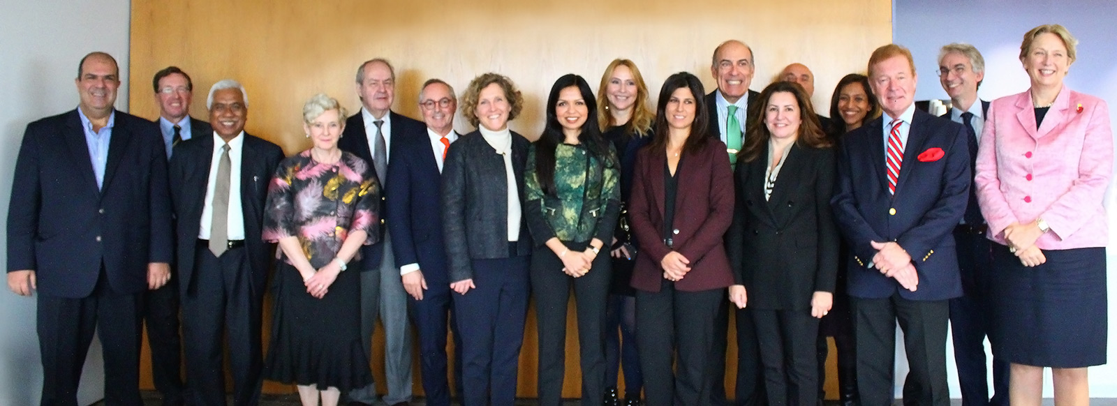Group shot of the Global Advisory board members