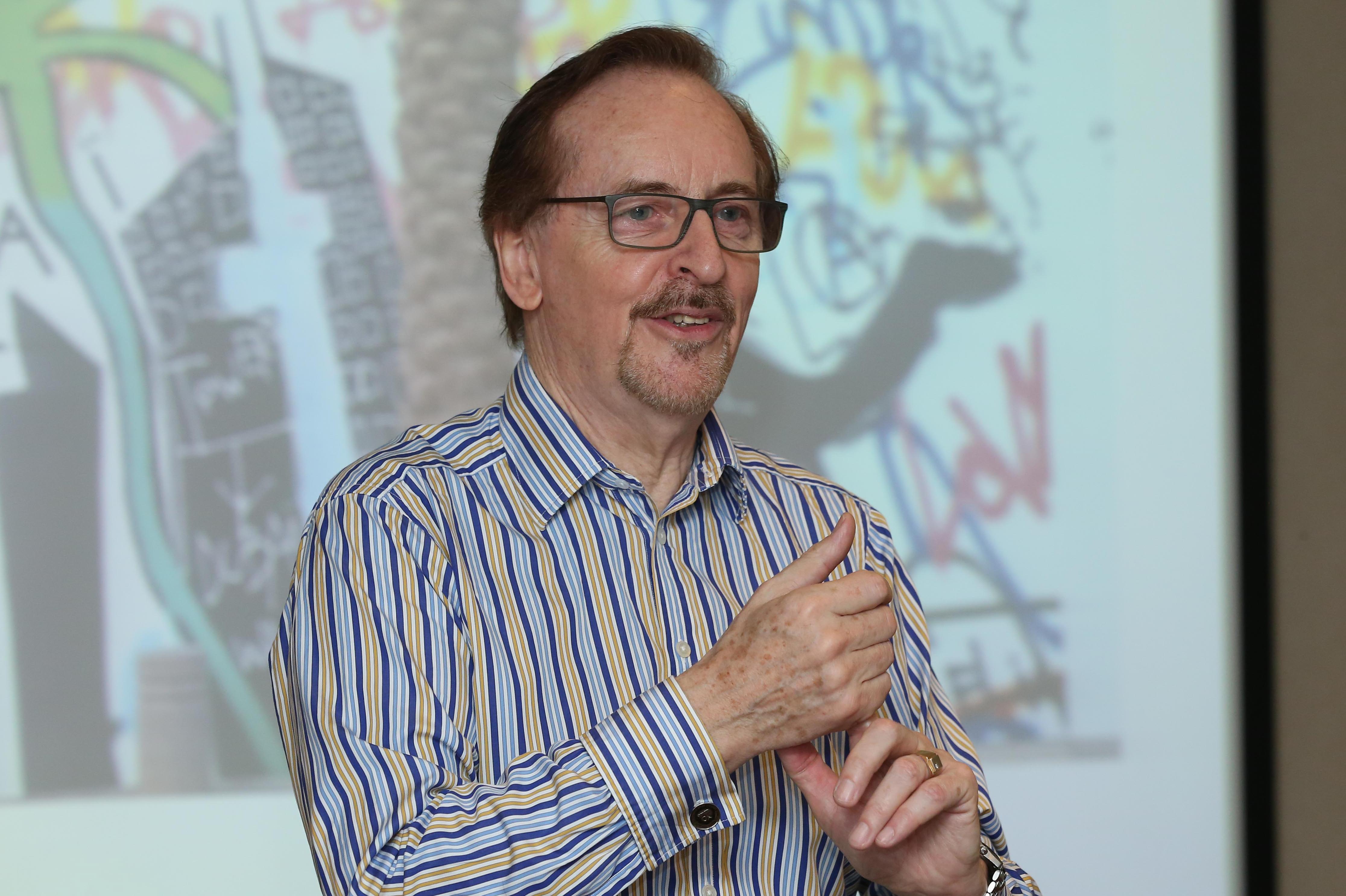Professor Roy Batchelor of Cass