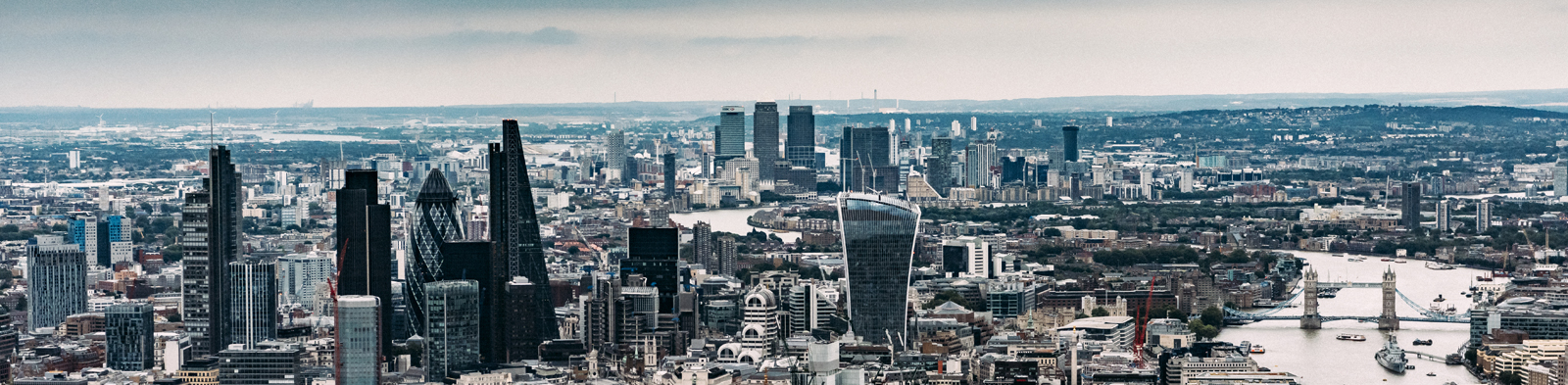 Aerial picture of London