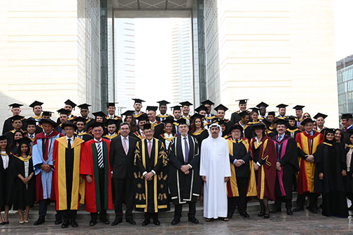 Cass welcomes new cohort of EMBA graduates in Dubai