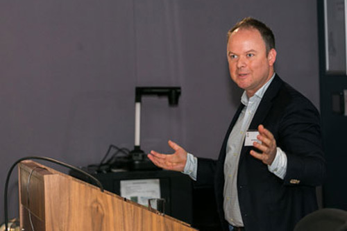 Ant Moore FTI Consulting speaking at CeFARR