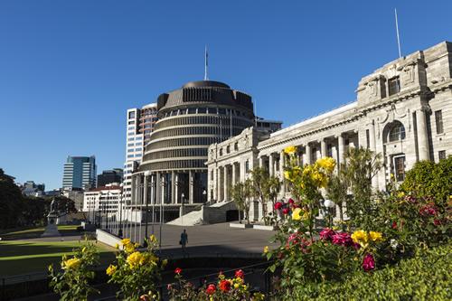 New Zealand beehive building