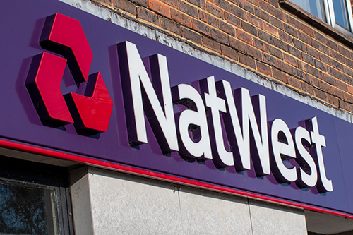 Outside of a NatWest bank