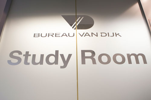 Bureau Van Dijk Study Room