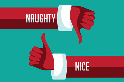 Naughty or Nice. John Lewis Christmas Advert
