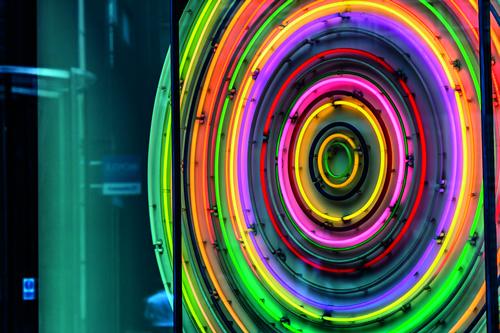 Circular Neon sign