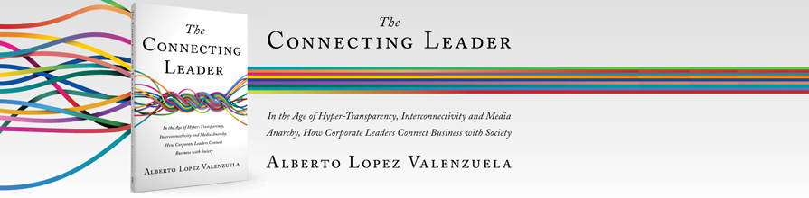 Alberto Lopez Valenzuelas new book The Connected Leader