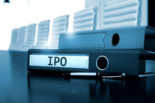 A prospectus file for an IPO