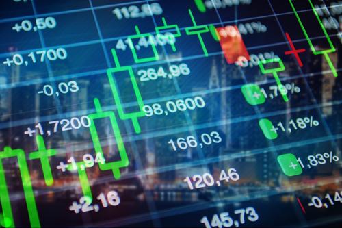 Trading floor screen