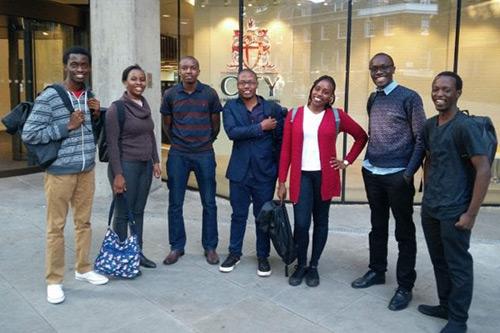 Joan Wanja Mungai outside City, University of London Northampton Square.jpg
