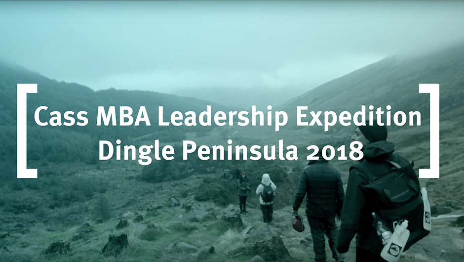 Cass MBA Leadership Expedition in Ireland