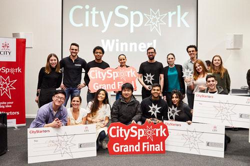 CitySpark 2019 winners