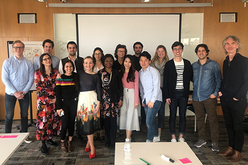 The Masters in Innovation, Creativity and Leadership cohort of 2019