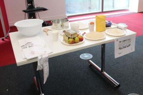 Bake off challenge on the Cass MBA programme
