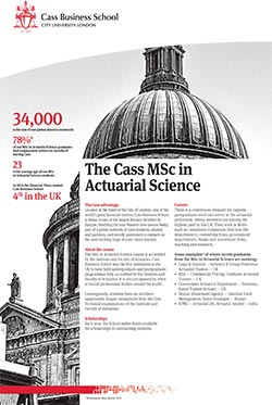 Actuarial Science factsheet