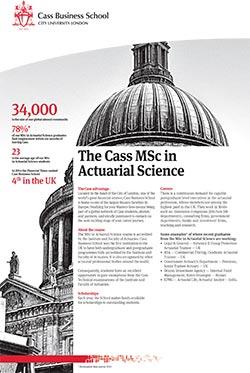 Actuarial Science factsheet
