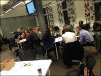 delegates in a workshop